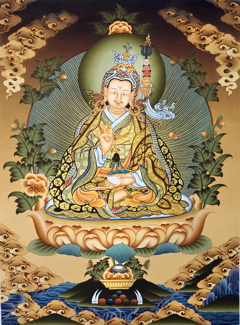 Padmasambhava Lotus Pose