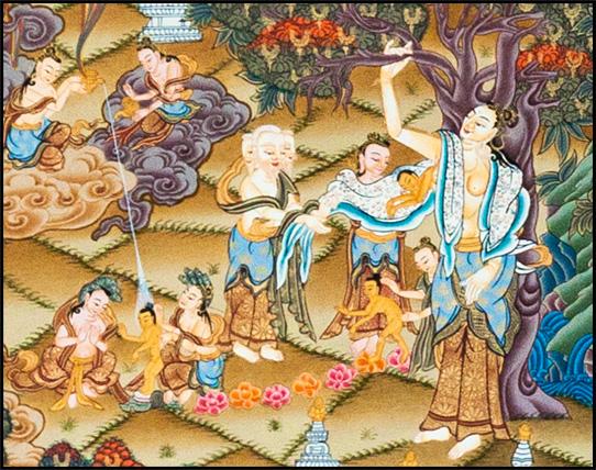 Maya and Buddha