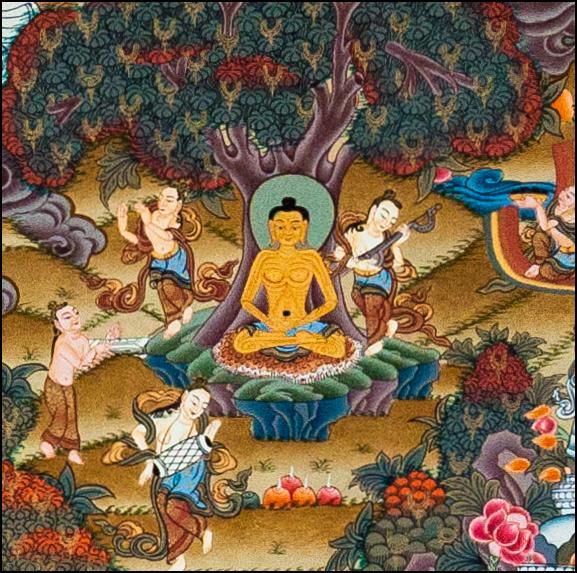 Austerity years Buddha Life