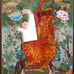 Tibetan Tiger Thangka