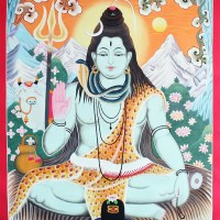 Shiva Himalaya Thangka Art