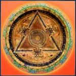 Bernagchen Mahakala Mandala Thangka Painting