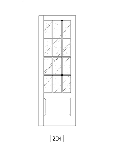 custom home window and door