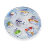 Passover Gifts - Pack Of 12 Passover Paper Seder Plates ...