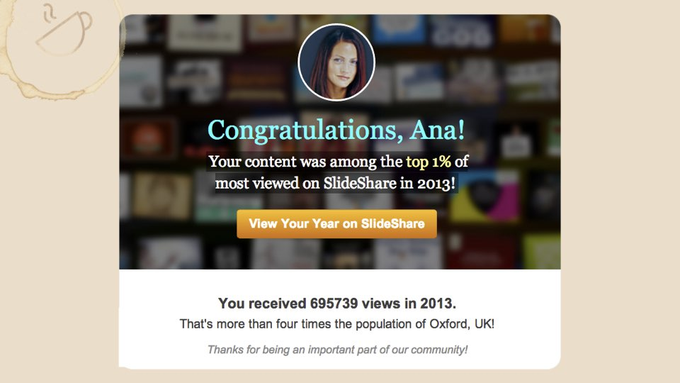 SlideShare Traffic Case Study \u2022 From 0 to 243,000 Views in 30 Days