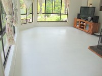 How and why we use decorative paint for concrete floor ...