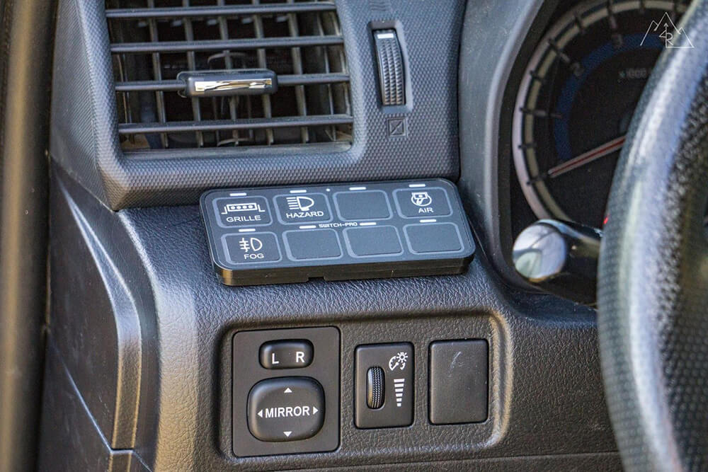 Switch Pro 9100 / Power Tray Install on 5th Gen 4Runner - Full How To