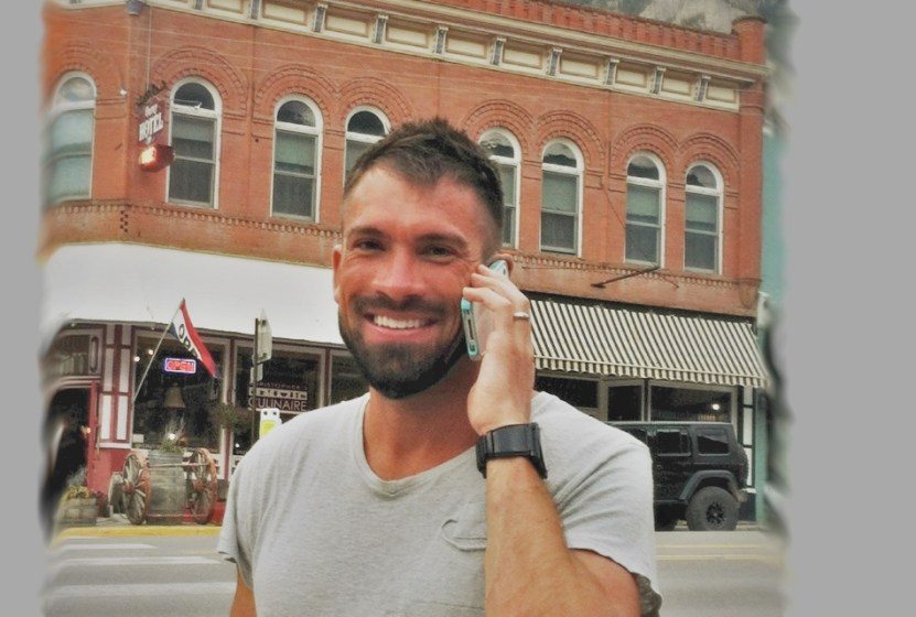 Picture of Hal Koerner ready for the Hardrock 100