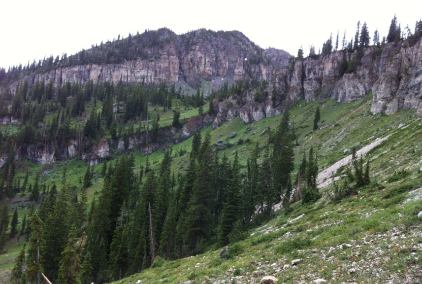 picture of the Wasatch 100 course