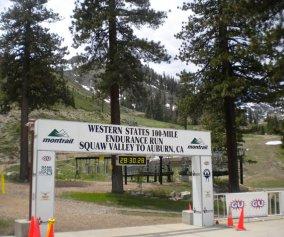 Western States 100 Start/Finish Banner