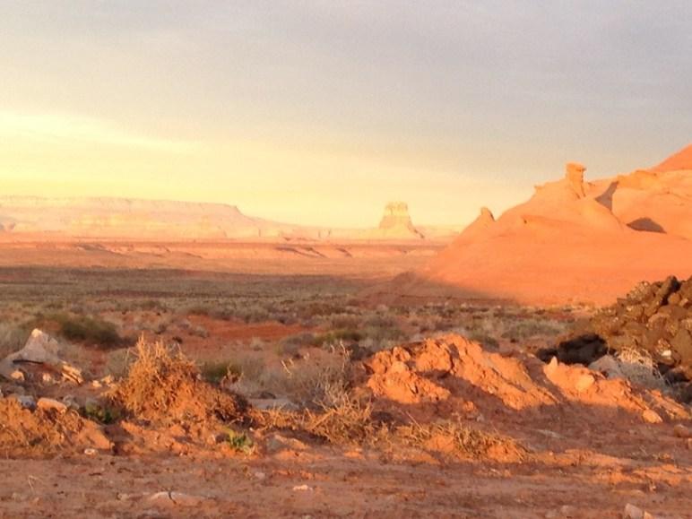 Antelope Canyon vista