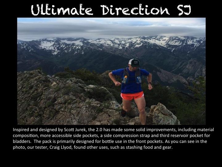 Ultimate Direction Scott Jurek Vest