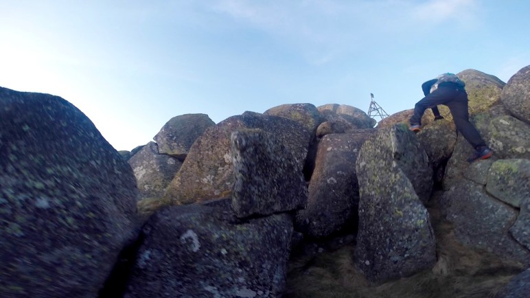 KW Another Summit Rock Scramble