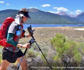 Picture of Brandon Stapanowich setting Colorado Trail FTK
