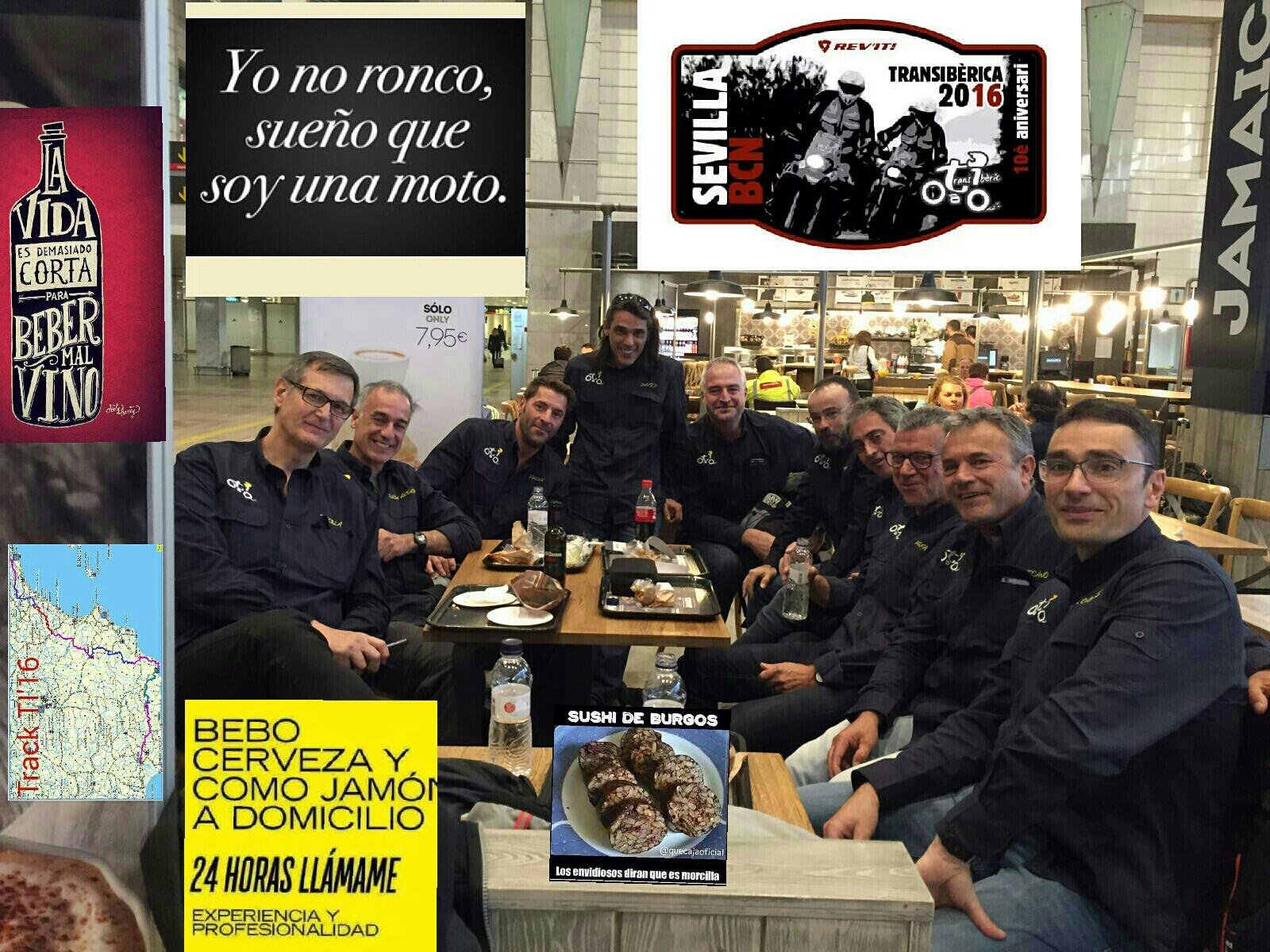 Ya estamos en marcha: Transiberica 2016. Sevilla-Almeria-Barcelona