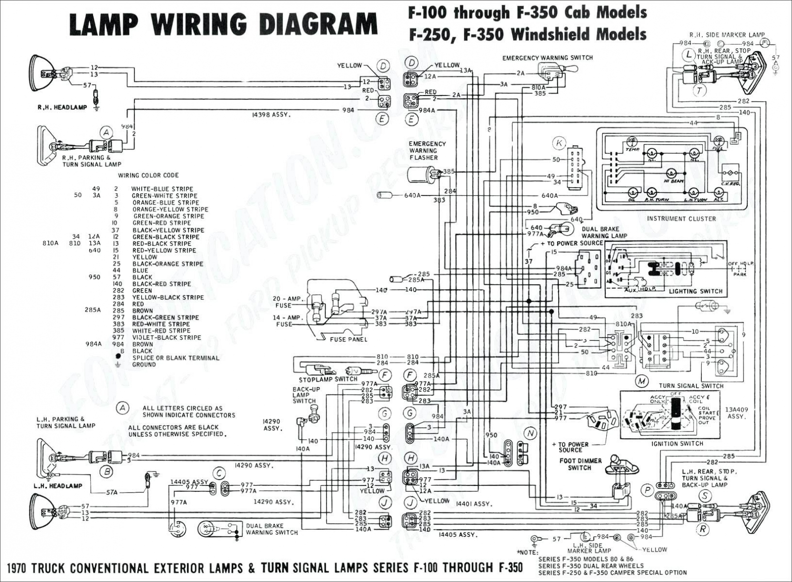 ford f 150 trailer wiring harness