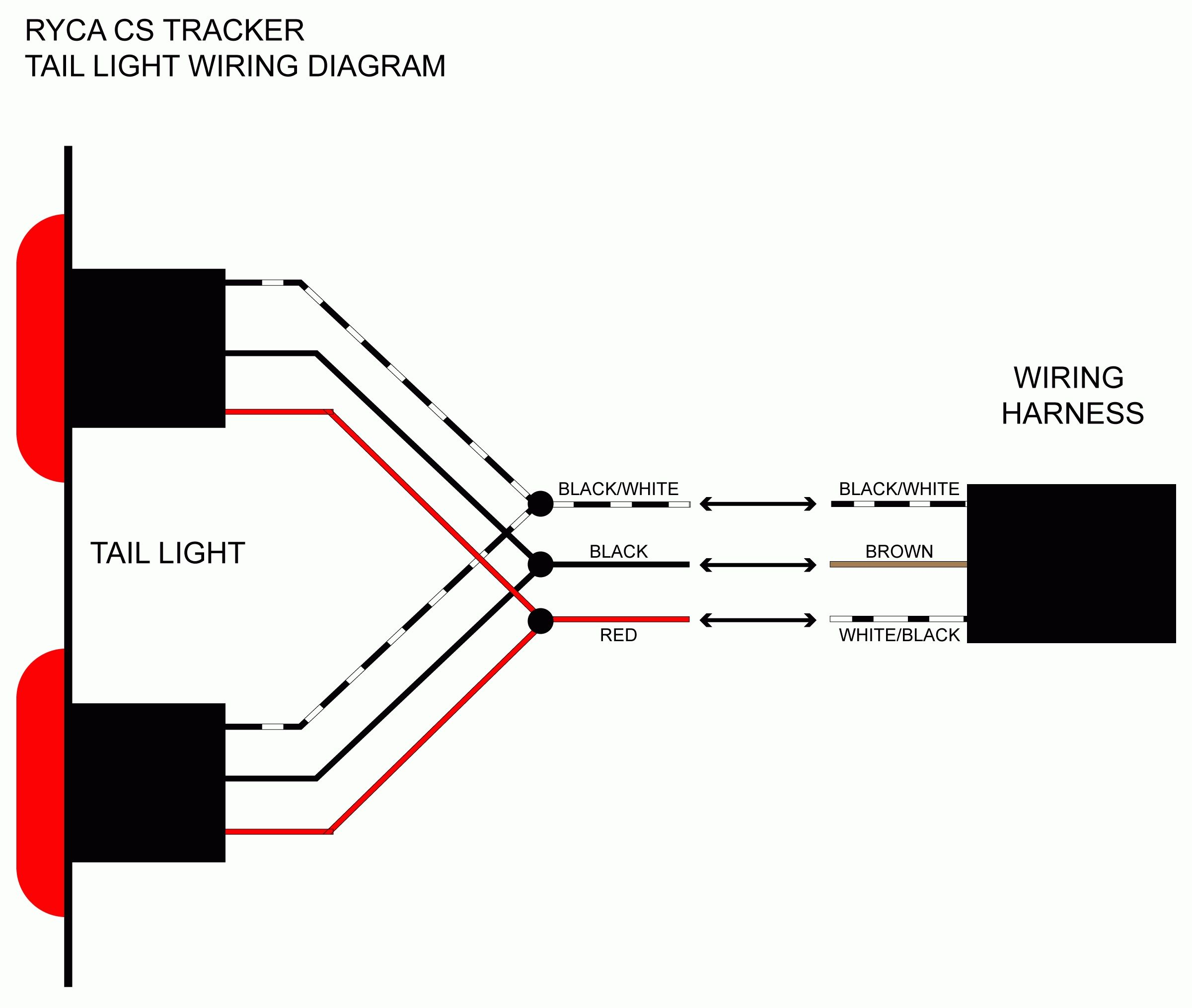 trailers lights wiring diagram