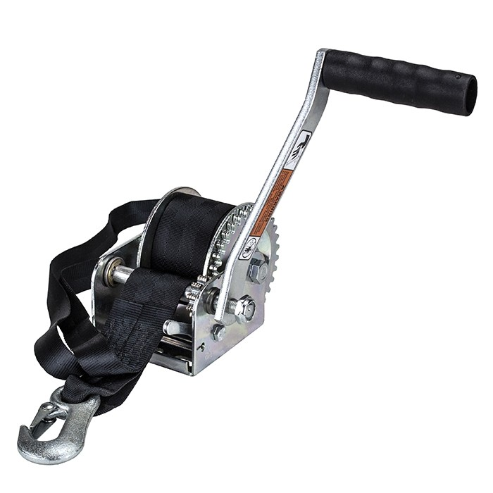 Dutton-Lainson 600 lb Single Speed Hand Winch with 15\u0027 Strap - 7