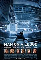 Man on a Ledge Poster