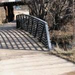 trail bridge & railroad underpass