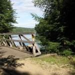 Rockingham bike trail in New Hampshire