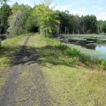 Rockingham recreational trail in New Hampshire