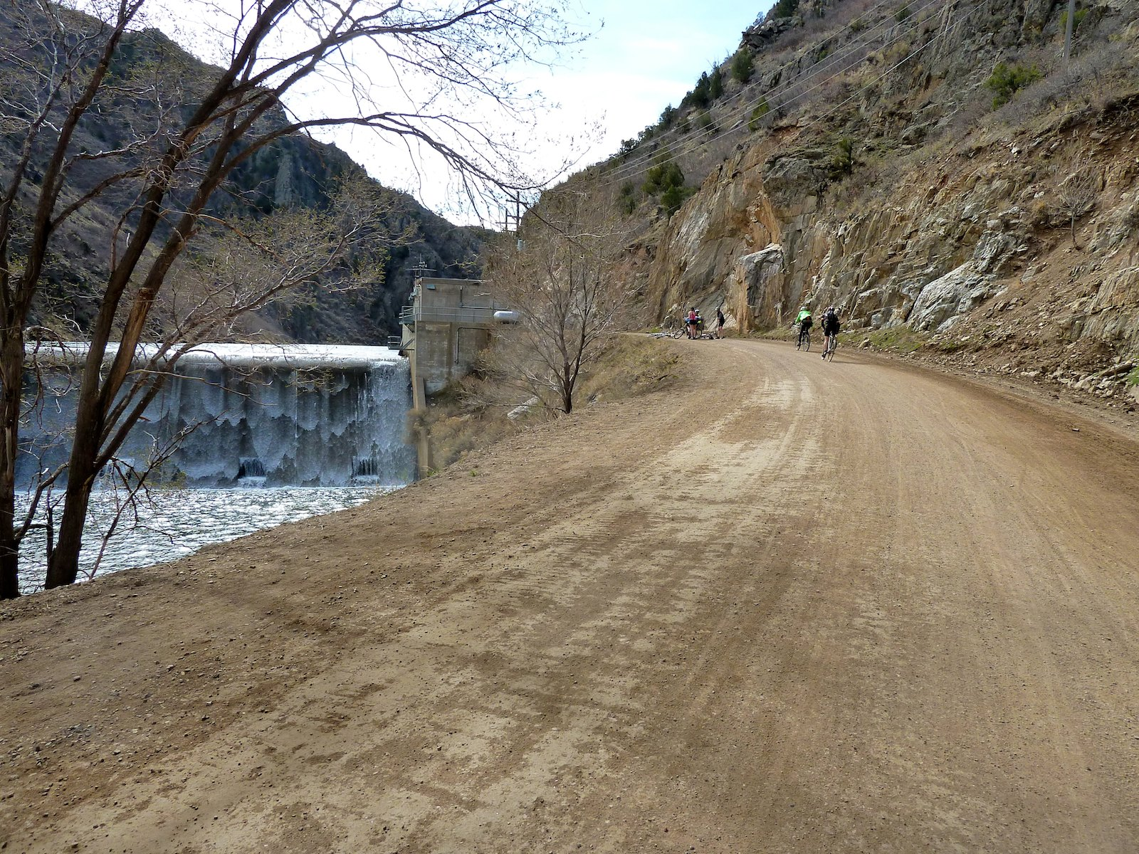 Bike Colorado Rail Waterton Canyon trail goes by
