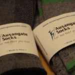 Ausungate socks with alpaca hair fiber