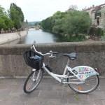 velomet rental bike in Metz, France