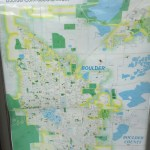 Trail map for US 36 Bikeway