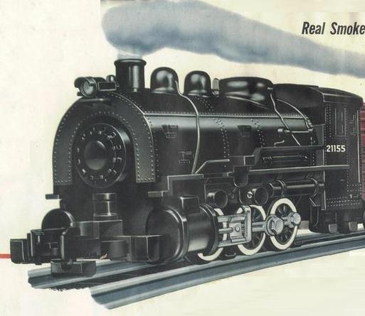 American Flyer Locomotive 21155 Docksider Switcher Parts List