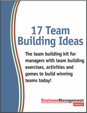 17 Team Building Ideas The team building kit for managers with team