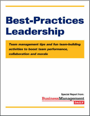 Best-Practices Leadership Team management tips and fun team