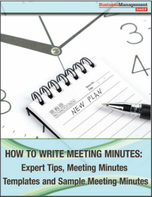 How to Write Meeting Minutes Expert Tips, Meeting Minutes Templates