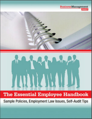 The Essential Employee Handbook Sample Policies, Employment Law