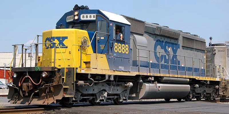 CSX 8888 incident famous train story - Trains and Railways Info