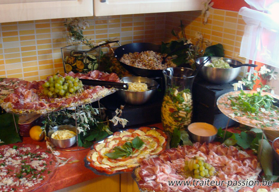 "Les Buffets Froids Buffet Froid ""italien"" à 28€/p. - Aux Fruits De Ma Passion"
