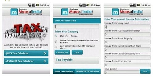 4 Android Tax Calculation Apps for Indians - income tax calculator