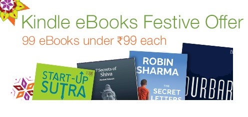 Kindle eBooks offer