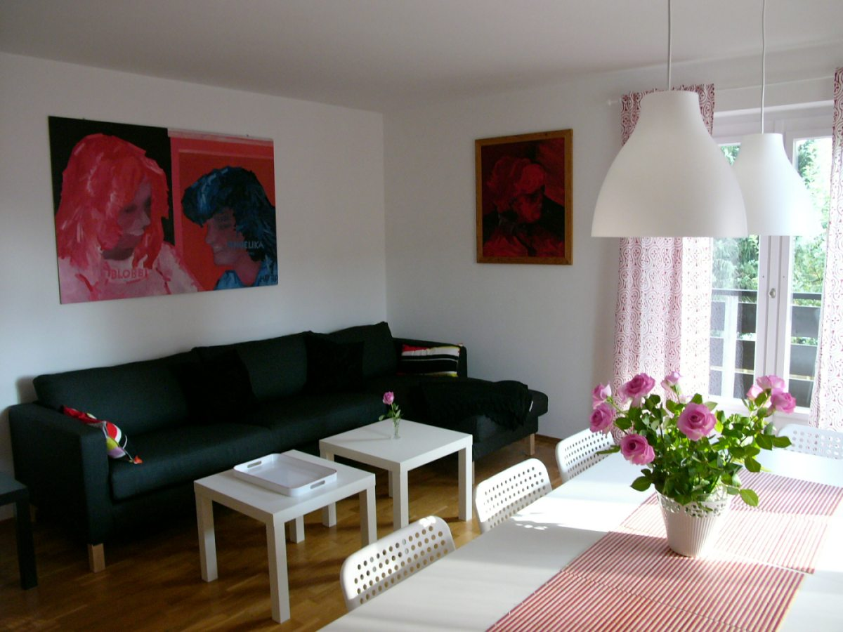 Esszimmer Pink Holiday Residence