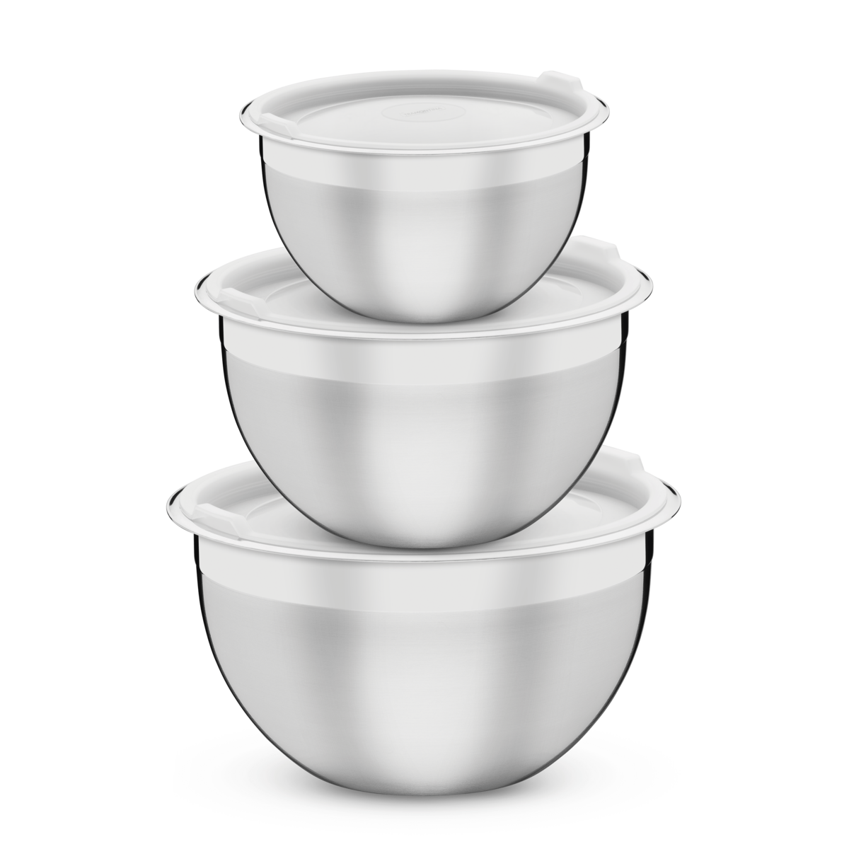 Container Cucina Tramontina Cucina Stainless Steel Container Set With Plastic Lids