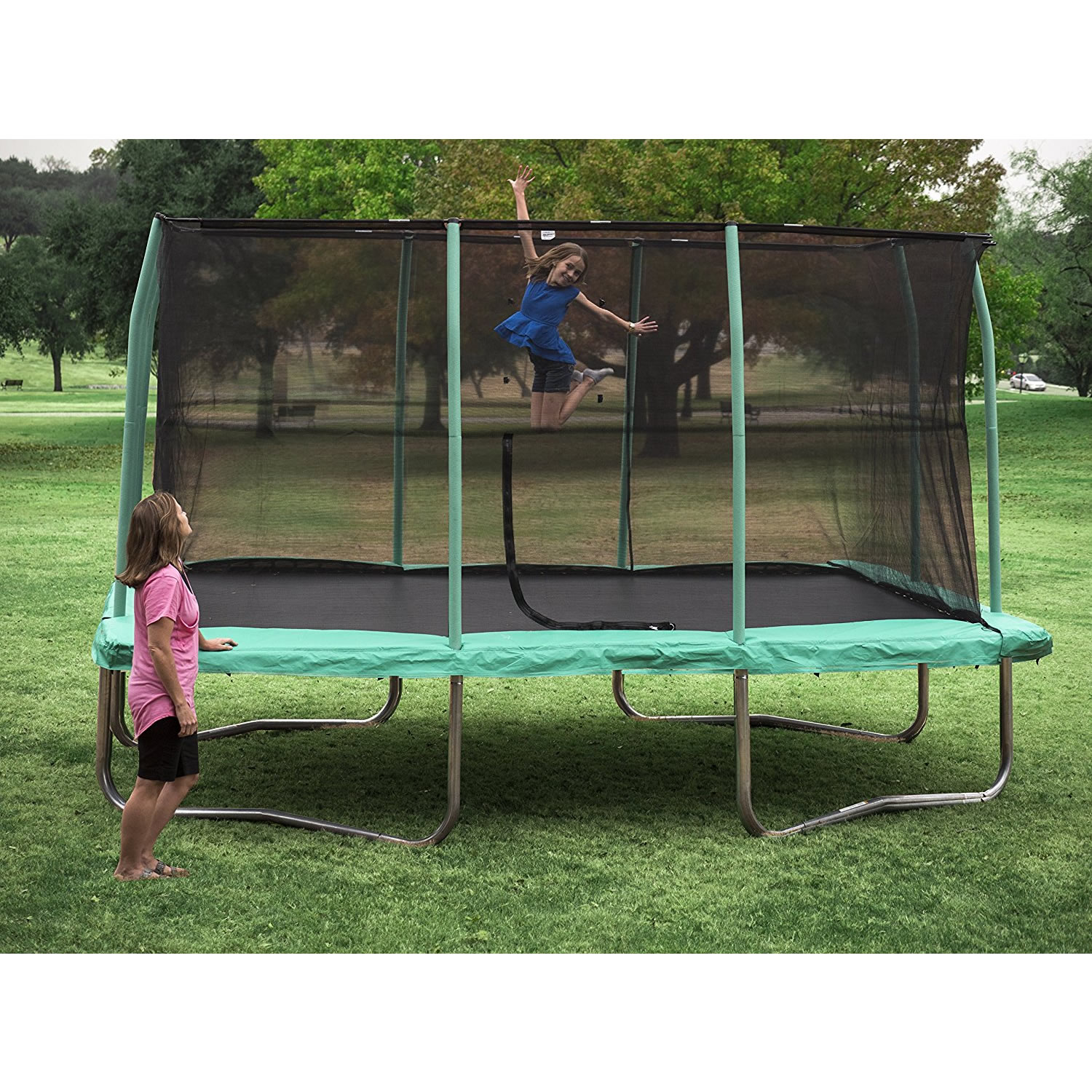 Trampolin 3 5 Meter What S The Best Trampoline Size Price Guide Recommendations
