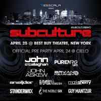 Subculture New York (25.04.2015) @ Best Buy Theatre, New York (US)