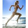 Löpning på stranden