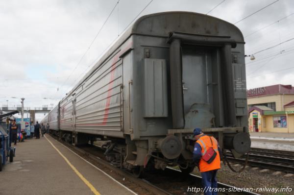 シベリア鉄道車両画像