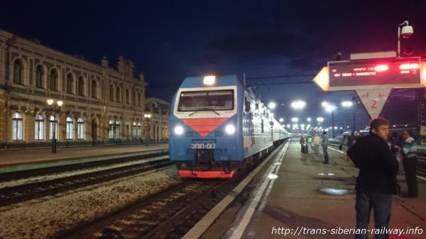シベリア鉄道ЭП1П(EP1P)画像