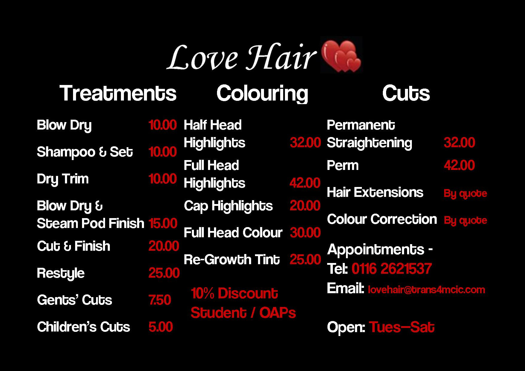 Beauty Salon Prices Black Hair Salon Prices Hairstylegalleries