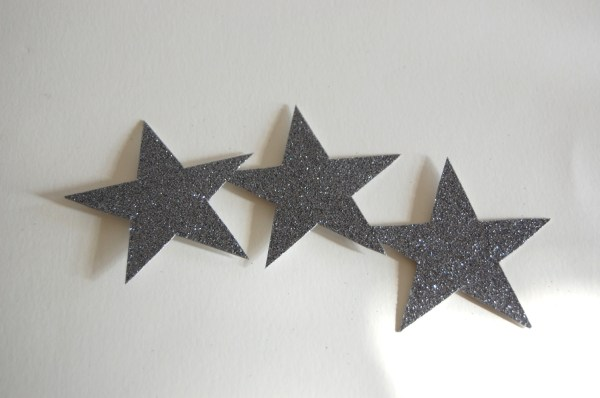 glitter star hair pin accessory headband