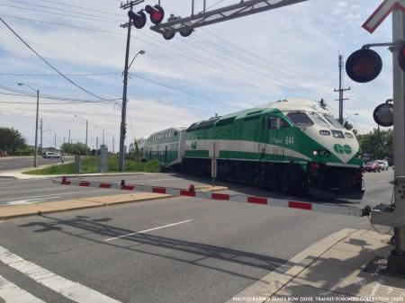 Go Train Richmond Hill