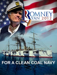 Romney clean coal navy